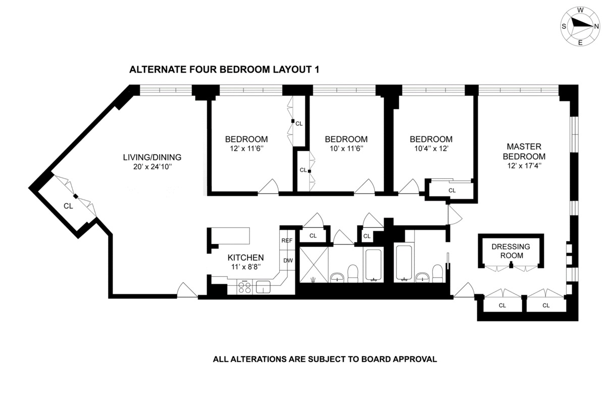 301 Cathedral Parkway #5S,New York,United States,4 Bedrooms Bedrooms,2 BathroomsBathrooms,Condo,Cathedral Parkway #5S,1051